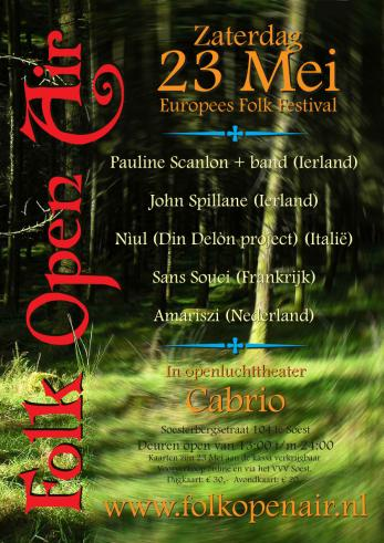 Flyer Folk Open Air
